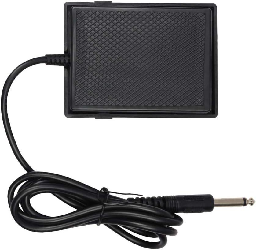 SUPVOX Pedal Amortiguador de Pedal de Sostenido Universal para Guitarra Acústica Baja Suministros de Instrumentos de Guitarra Eléctrica