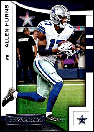60aae348758 2018 Rookies and Stars Football #3 Allen Hurns Dallas Cowboys Official NFL  Trading Card Produced