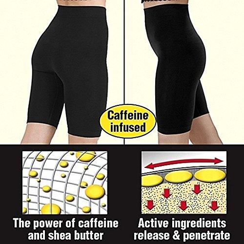 MedexLab Cellulite Slimming Belt Waist Wrap - Coffee Infused for Extra Fat Burning (Womens Disco Sensation Dress)