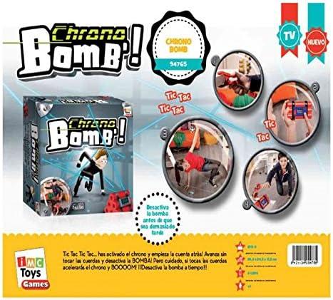 IMC Toys Juego Chrono Bomb!DESACTIVA LA Bomba Antes DE Que Sea Tarde!: Amazon.es: Juguetes y juegos