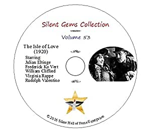 DVD The Isle of Love (1920) a.k.a. An Adventuress, Rudolph Valentino, Silent