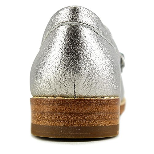 Kelsi Dagger Gabbywn Women US 6 Silver Loafer aJj0ypaU1F