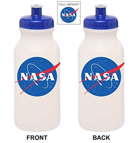 Ripple Junction Nasa Meatball Logo Water Bottle - Logo Water Bottle