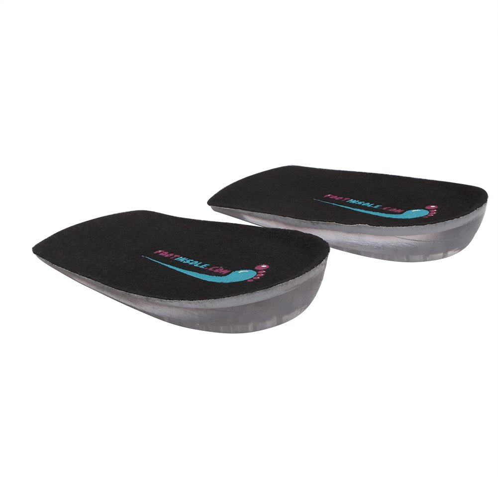 Silicone Heel Cushion Inserts - 0.4 Inches Height Increase Insoles - Achilles Tendonitis For Men