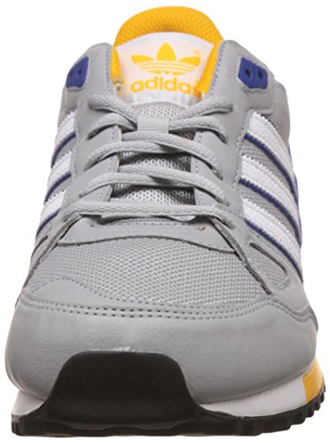 adidas Men's Zx 750 Low-Top Sneakers Grey (Clear Onix/Ftwr White/Bold Blue) Zy7E4fI8VB
