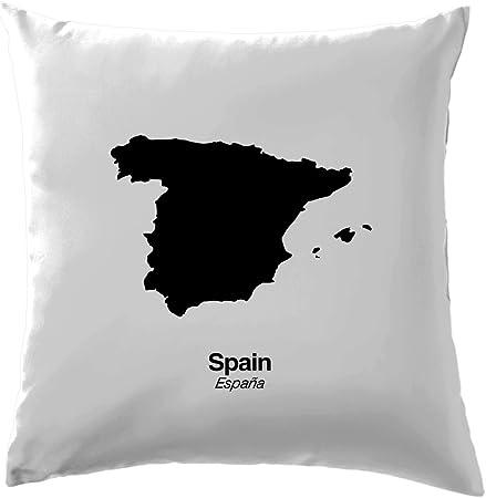 Silueta de España – cojín 41 x 41 cm (16