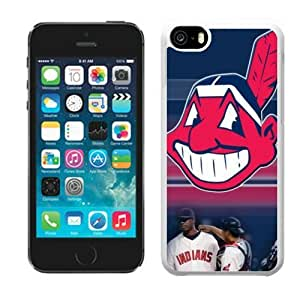 High Quality MLB Cleveland Indians iphone 5C Case Cover For MLB Fans