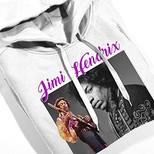 Sweatshirt Sweatshirt Sweatshirt Jimi Coto7 Hendrix Hooded Montage White Tribute Women's Women's Women's 71xBqwOaP