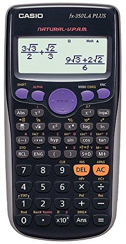 Casio FX-82LAPLUS-BKSCMH Calculadora