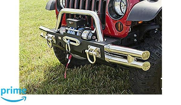 XHD Tube Bumper Ends for Jeep Wrangler JK 2007-2018 11540.21 Rugged Ridge