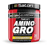 Cheap iSatori Amino-Gro Branched Chain Amino Acid Formula With Glutamine For Workout Performance, Muscle Growth, Hydration and Recovery – 30 Servings – Frosted Lemonade
