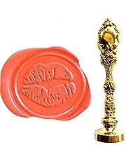 MNYR Vintage sexiga läppar kyss kärlek vax sigill stämpel brons metall dekorativa inbjudningar sigill anpassat företag monogram vax tätning stämpel set