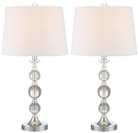 Solange crystal table lamps set of 2 amazon solange crystal table lamps set of 2 audiocablefo light catalogue
