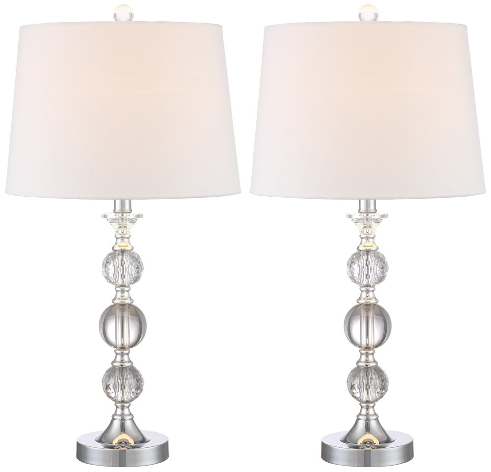 Solange Crystal Table Lamps - Set of 2