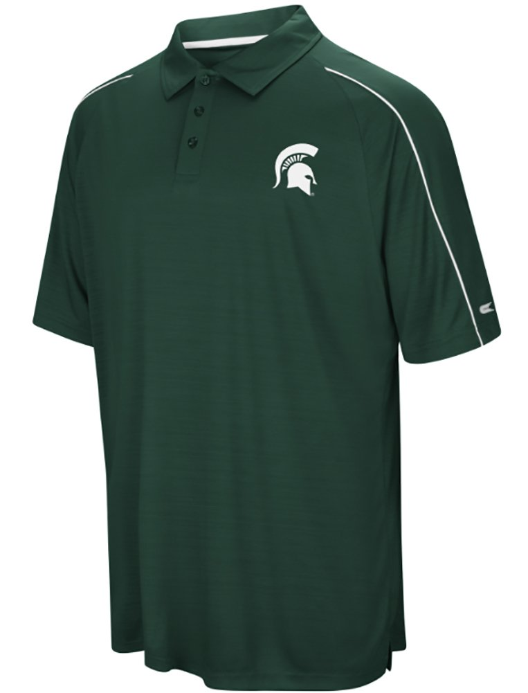 Michigan State Spartans NCAA Setter Men's Performance Polo Shirt