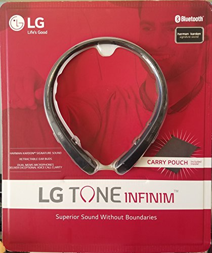 *OPEN BOX*  LG TONE INFINIM Wireless Retractable Earbuds HBS