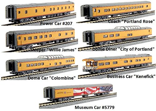 Kato USA Model Train Products N Scale Union Pacific Excursion Train 7-Car Set from Kato USA Model Train Products