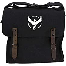 Pokemon TEAM VALOR Heavyweight Canvas Medic Shoulder Bag