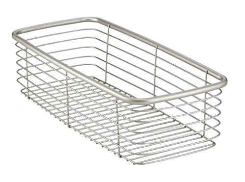 Review InterDesign Forma Ultra Wire Home Storage Basket - Medium, Satin By InterDesign by InterDesign