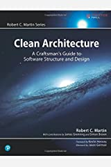 Clean Architecture: A Craftsman's Guide to Software Structure and Design (Robert C. Martin Series) Paperback