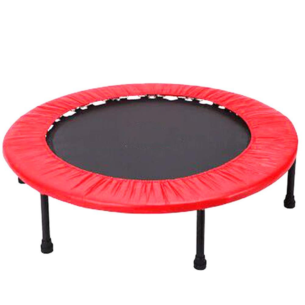 トランポリン円形 折りたたみ式静音型 有酸素運動 エクササイズ ダイエット 家庭用 大人子供用 耐荷重150kg 40in  B07SM6TGDZ