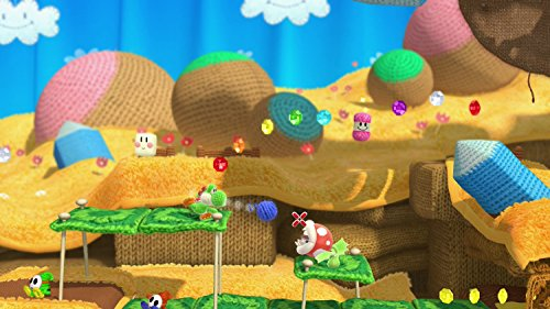Yoshi Woolly World Bundle Green Yarn Yoshi amiibo - Wii U (Japanese version) by nintendo (Image #6)