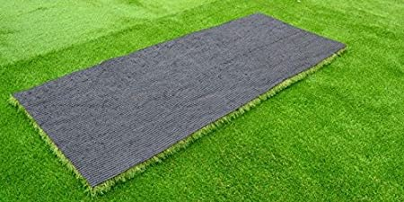 Super India 25mm Pile Height Artificial Grass High Density, Soft and Durable Plastic Turf Carpet Mat for Balcony (2.5 feet x 13 feet) Artificial Plants at amazon
