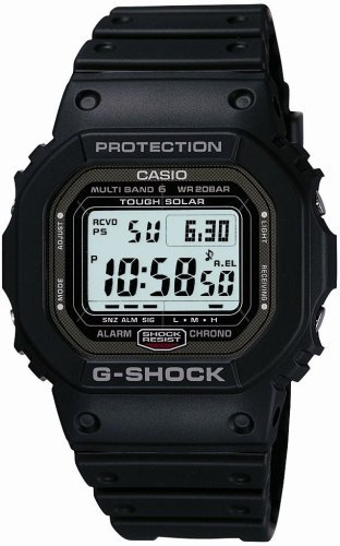 1 Mens Multi Band - Casio G Shock GW-5000-1JF Multi Band 6 Japan Made