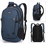 Winblo Durable Breathable Laptop Backpack for College Bookbag Business Travel,Fits Most Laptops Up to 15 Inch