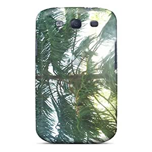 Galaxy Case - Tpu Case Protective For Galaxy S3- Green Tree