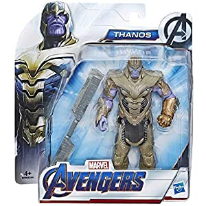 collector Avengers Endgame – Thanos – Action Figure with Accressory, Approx 6″