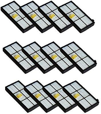 iRobot Roomba 800 6 pc  Hepa Replacement Filter  Fits 900 Series 870 880 900