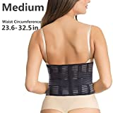 Adjustable Back Brace - Lower Back Support Helps Pain Relief for Sitting Walking Sports Men and Women Daily Care - Lumbar Support Belt