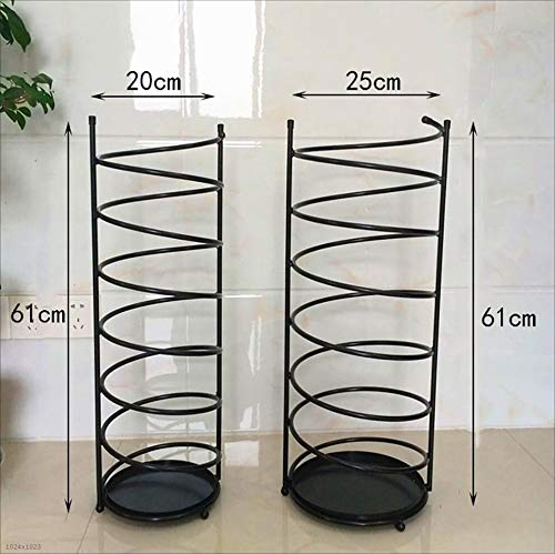 Umbrella Rack Iron Style European Home Creative Umbrella Rack Umbrella Barrel Storage Barrel Umbrella Hotel Lobby Umbrella Stands (Size : 20cm61cm) by LHsan (Image #1)