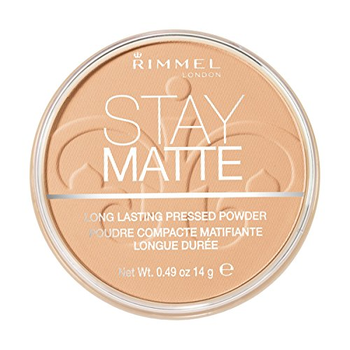 (3 Pack) RIMMEL LONDON Stay Matte Long Lasting Pressed Powder - Nude Beige
