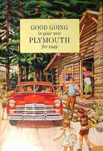 (1949 PLYMOUTH OWNERS INSTRUCTION & OPERATING MANUAL - USERS GUIDE. 49 Plymouth cars, including P-17 and P-18 Deluxe and Special Deluxe.. 49)