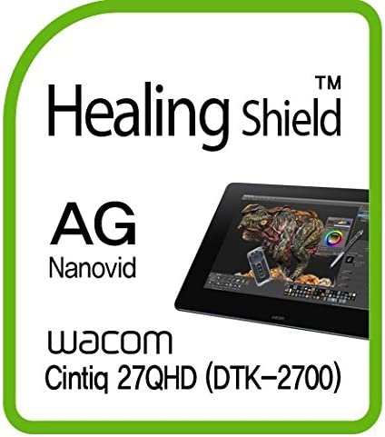 Healingshield Screen Protector Anti-Fingerprint Anti-Glare Matte Film Compatible for Wacom Tablet Cintiq 27QHD DTK-2700