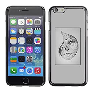 Plastic Shell Protective Case Cover || Apple iPhone 6 Plus 5.5 || Halloween Tattoo @XPTECH