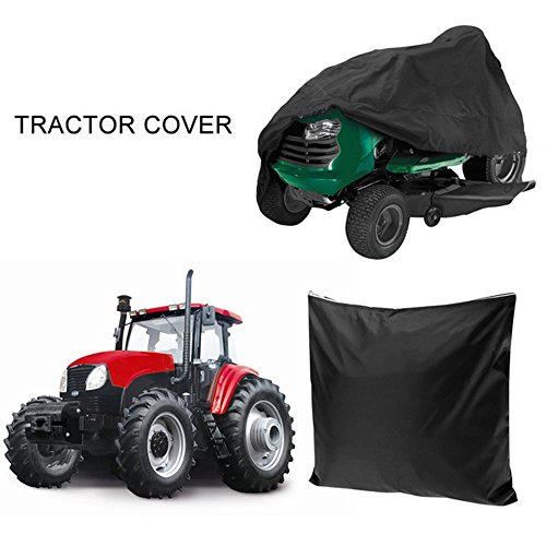 Cheesea 54 Inch Garden Yard Riding Mower Lawn Tractor Cover Waterproof Black