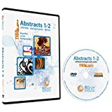 Abstracts Backgrounds 1-2 Bundle-Vector Art Images-Grunge Floral Background, Deco Flower Graphic Design DVD