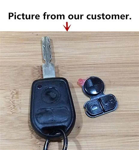 5ff0aec9f09 Amazon.com  HelloAuto For BMW Key Replacement Button Pad Smart Remote Key  Fob Shell Case Cover Pad for BMW 318i 323i 525i 528i 530i 535i 540i 735i  740i ...