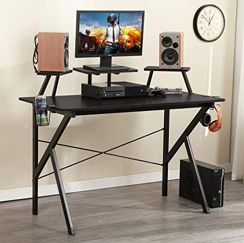 """DlandHome 47"""" Table/Workstation Display Stand YX001-BB 1 Pack"""