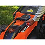 BLACK+DECKER 40V MAX Cordless Lawn Mower, 20-Inch (CM2043C) 18 Two 40V max Lithium ion batteries are included for twice the runtime Mulching, bagging and side discharge of grass clippings gives you 3-in-1 versatility Mow right up to edges and spend less time trimming thanks to the edgemax design