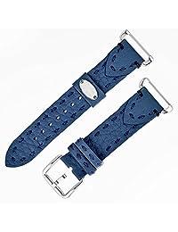 Fendi Blue Fendi Selleria Leather Watch Bands Watch SS18RH3S