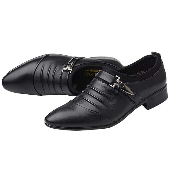 SuperSU Herren Anzugschuhe Leder Flat Vintage Brogue Oxfords Schuhe Comfy Office Schuhe Business Casual Lackleder Hochzeit Schnürhalbschuhe