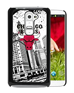 Fashionable And Unique Designed Case For LG G2 Phone Case With Chicago Bulls Black