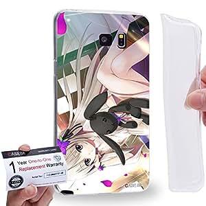 Case88 [Samsung Galaxy Note 5] Gel TPU Carcasa/Funda & Tarjeta de garantía - Yosuga no Sora Sora Kasugano Haruka Kasugano 1458