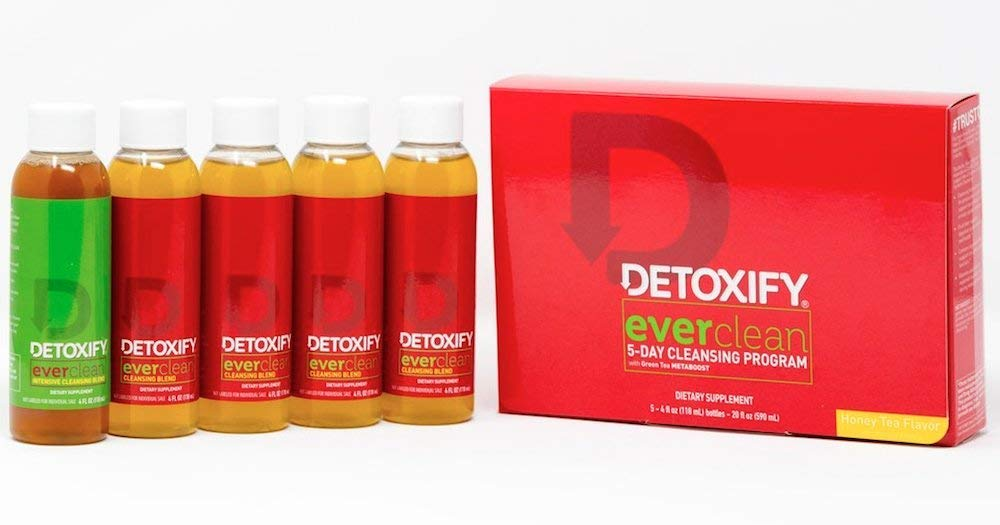 detoxify detox ever clean herbal cleanse 5 day cleansing program 5