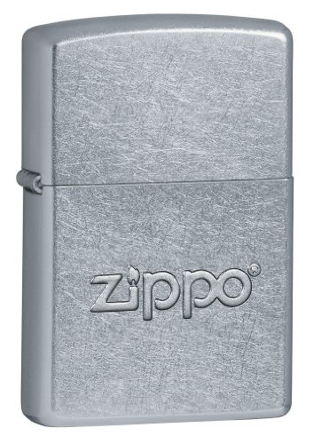 Zippo Stamp Street Chrome Lighter