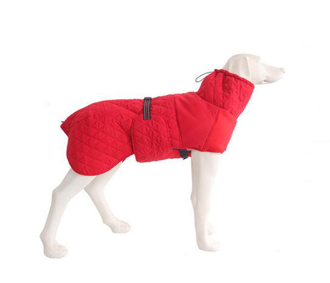 Red 5XL red 5XL Jiansheng Dog Coat, Winter golden Retriever, Large Dog Costume (color   Red, Size   5XL)
